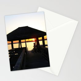 Norwalk, Sheffield Island, Sunset, Connecticut Stationery Cards