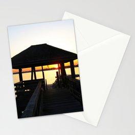 Norwalk, Sheffield Island, Sunset, Connecticut Stationery Cards