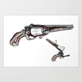 Callan Revolver Art Print