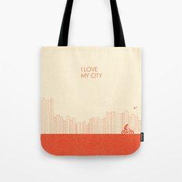 I love my City Tote Bag