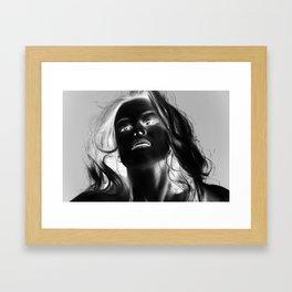 Inverted Portrait Framed Art Print