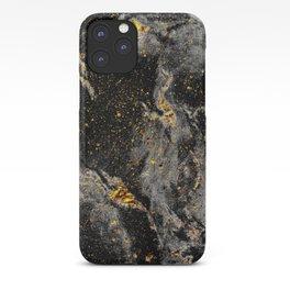 Galaxy (black gold) iPhone Case
