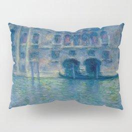 Claude Monet's Palazzo da Mula in Venice Pillow Sham