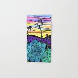 Succulent Sunset Hand & Bath Towel