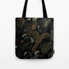 Cactus Garden Paisley 1 Tote Bag