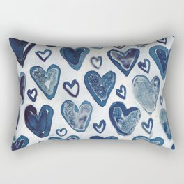 Hearts aplenty. Rectangular Pillow