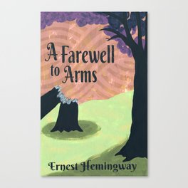 A Farewell to Arms Canvas Print