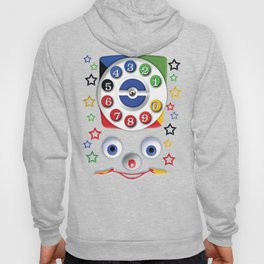 Classic Retro vintage Smiley Toys Dial Phone Hoody