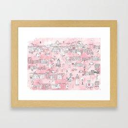 La Belle Papeterie Framed Art Print