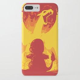Charizard Evolution iPhone Case