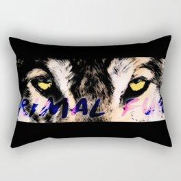 Primal Fury Rectangular Pillow