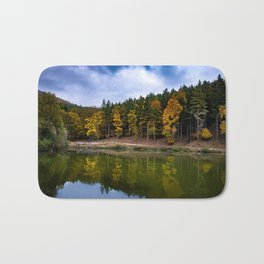 Autumn at the Lake Bath Mat