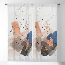 Divide #1 Blackout Curtain