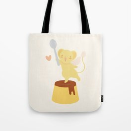 Purin Pudding Tote Bag