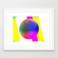 dragon ball Framed Art Prints featuring Ball by LoRo  Art & Pictures