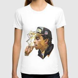Hip-hop cubism T-shirt