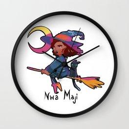 Nwa Maji Wall Clock