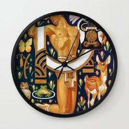 Joseph Christian Leyendecker - Spring - Digital Remastered Edition Wall Clock