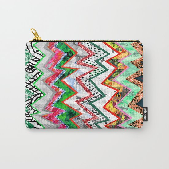 Candy Land Zigzags Carry-All Pouch