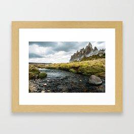 Stony Highland Framed Art Print