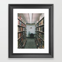 In the Library III Framed Art Print