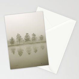 Reflections at sunrise Stationery Cards
