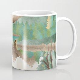 Deer Landscape Coffee Mug
