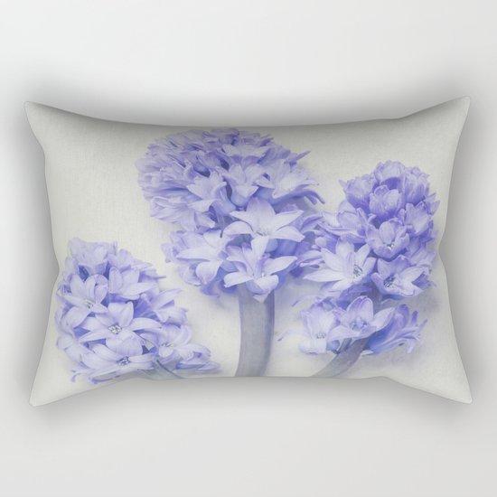 Bright Lilac Hyacinths Rectangular Pillow