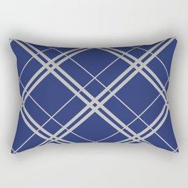 Ravenclaw Argyle Rectangular Pillow