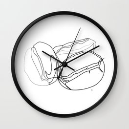 """"""" Kitchen Collection """" - Coffee Beans Wall Clock"""