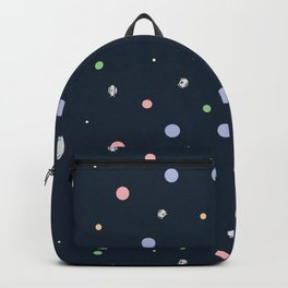 Portal Cores Pattern Backpack