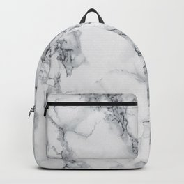 Gray faux marble Backpack