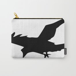 Raven A Halloween Bird Of Prey  Carry-All Pouch