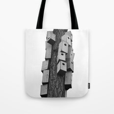 cozy neighborhood Tote Bag
