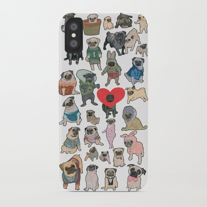 Pugs iPhone Case