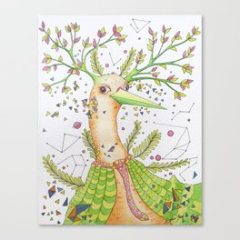 Forest's hear Canvas Print