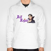 regina mills Hoodies featuring Evil Regal, Regina Mills by Your Friend Elle