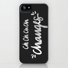 Bowie – White Ink Slim Case iPhone SE