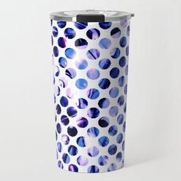Fluid Dot (Blue Version) Travel Mug
