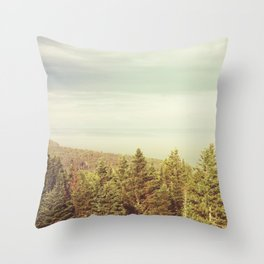 Forest Lookout Throw Pillow