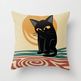 An eddy Throw Pillow