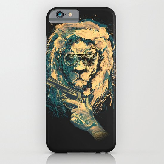 Lion is always Cool iPhone & iPod Case