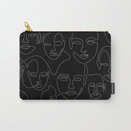 Face Thread Carry-All Pouch