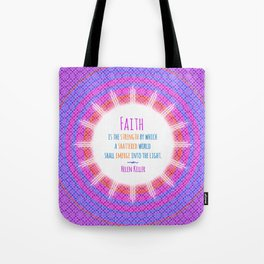 Emerge into the Light Tote Bag