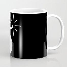 BLACK & WHITE BOMB DIGGITY Coffee Mug