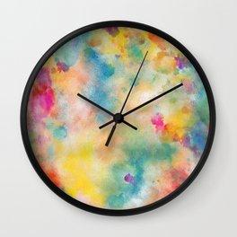 """Just Imagine"" | Original painting by Mimi Bondi Wall Clock"