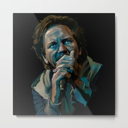 Vedder Man Metal Print