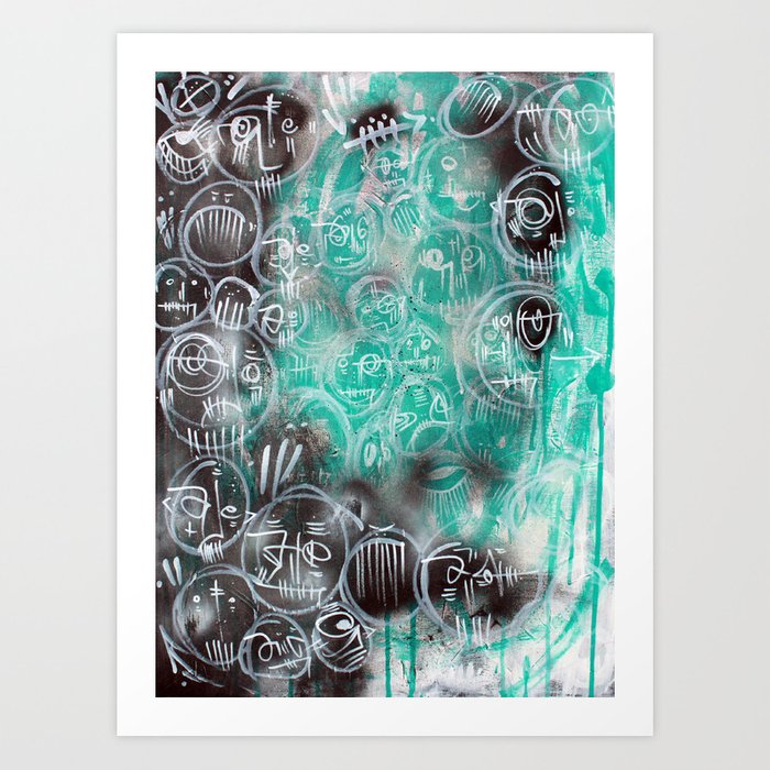 Cold Bones Art Print
