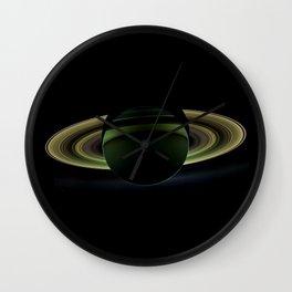The Rings of Saturn Wall Clock