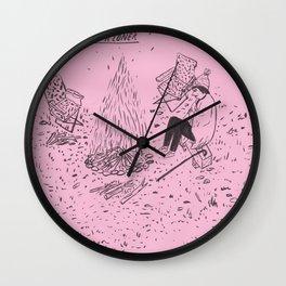 Bonfire for a Loner Wall Clock